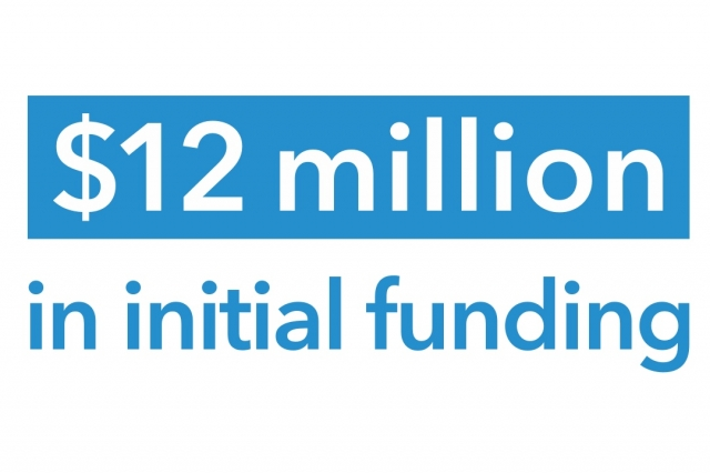 12 million in initial funding