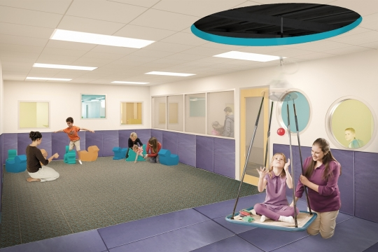 3D Rendering of Playroom